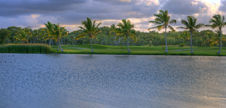 Overview of golf course named The Lakes - Barcelo Bavaro Golf Course