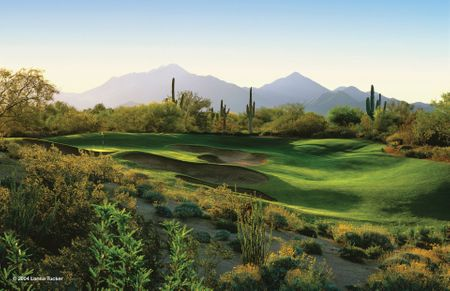 Overview of golf course named Grayhawk Golf Club - The Raptor