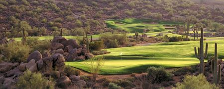 Overview of golf course named Sunridge Canyon Golf Club