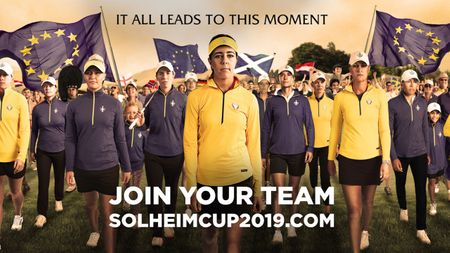 Cover for page Solheim Cup