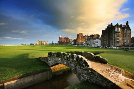 Scottish Golf Cover Picture