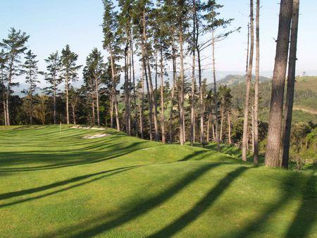 Overview of golf course named Palacio de Urgoiti Golf
