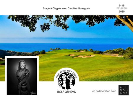 Cover of golf event named Golf School in Cyprus