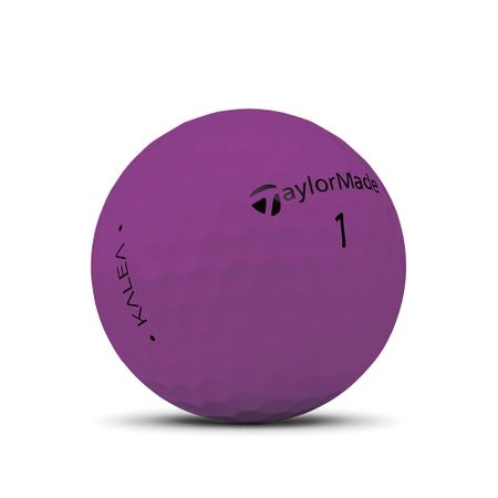 Golf Ball Kalea Matte Purple made by TaylorMade Golf