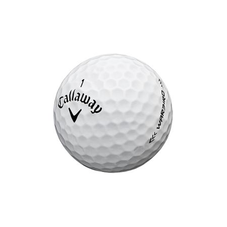 Golf Ball Warbird made by Callaway Golf
