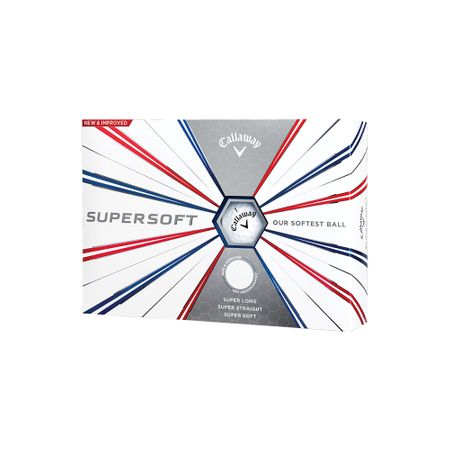 Golf Ball Supersoft made by Callaway