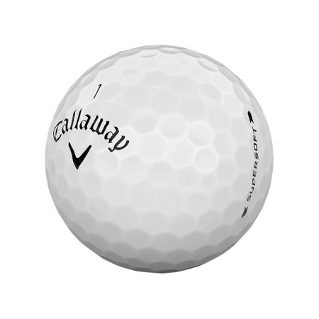 Golf Ball Supersoft made by Callaway Golf