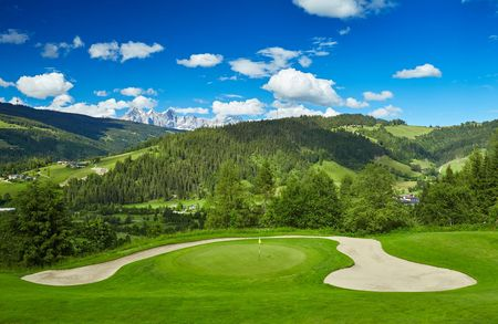 Overview of golf course named Golfclub Radstadt Tauerngolf