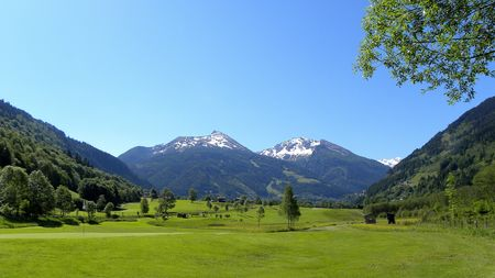 Overview of golf course named Golf Club Gastein