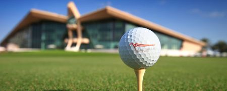 Cover of golf event named The Abu Dhabi Pro-Am