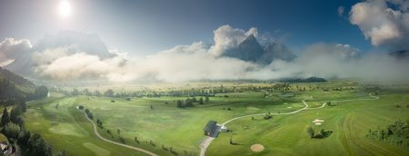 Overview of golf course named Golfclub Tiroler Zugspitze