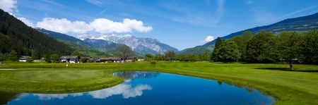 Overview of golf course named Golfclub Montafon