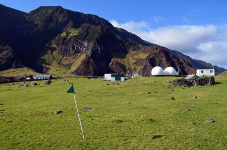 Tristan da Cunha Golf Club Cover Picture