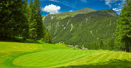 Overview of golf course named Golfclub Silvretta