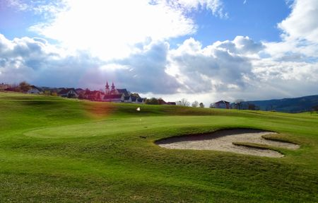 Overview of golf course named Golfclub Wachau