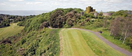 Overview of golf course named Clevedon Golf Club