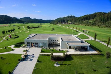 Overview of golf course named Jacques-Lemans Golfclub Saint Veit-Langsee