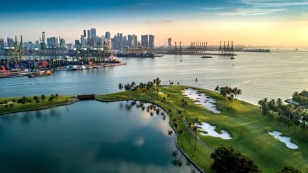 Overview of golf course named Sentosa Golf Club - The Serapong