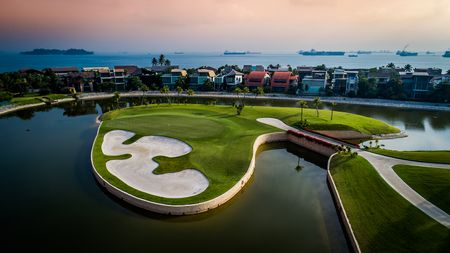 Overview of golf course named Sentosa Golf Club - The New Tanjong