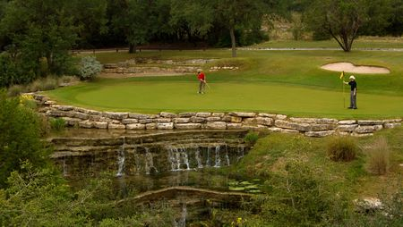 Overview of golf course named Barton Creek Resort & Spa - Fazio Foothills