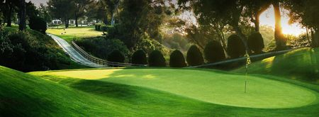 Overview of golf course named La Jolla Country Club