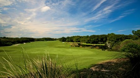 Overview of golf course named Hammock Dunes - Links Course
