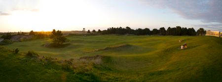 Overview of golf course named The Punchbowl at Bandon Dunes Resort
