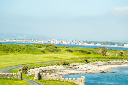 Overview of golf course named Castletown Golf Links