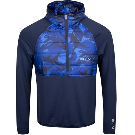 Golf undefined Tech Wool Hybrid Hoodie French Navy/Elmwood Camo - AW19 made by Polo Ralph Lauren