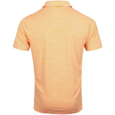 Polo Caddie Stripe Polo Vibrant Orange Heather - AW19 Puma Golf Picture