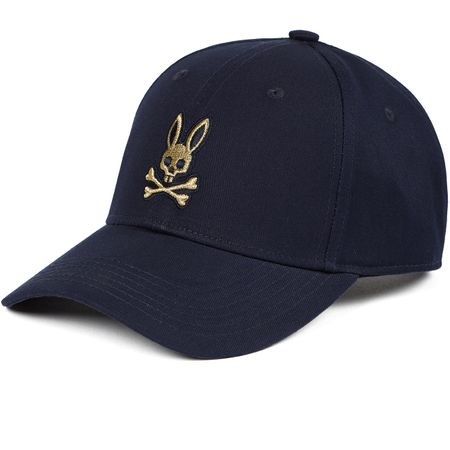Cap Twill Baseball Cap Navy - AW19 Psycho Bunny Picture
