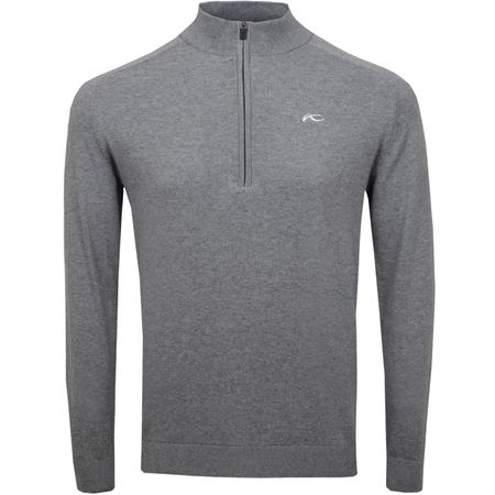 Golf undefined Kirk Half Zip Pullover Steel Grey Melange - 2019 made by Kjus