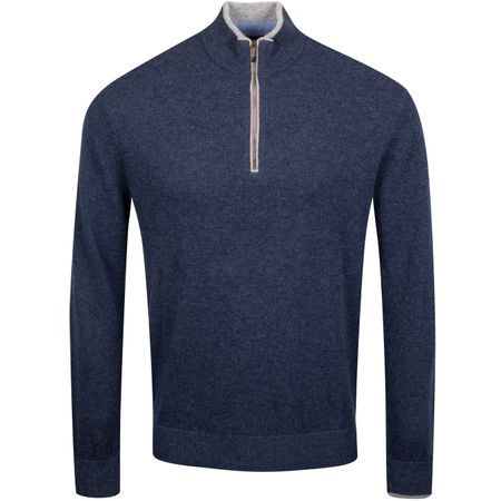 Golf undefined Sebonack Quarter Zip Sweater Abyss - AW19 made by Greyson