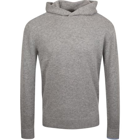 Golf undefined Koko Cashmere Hooded Sweater Smoke Heather - AW19 made by Greyson