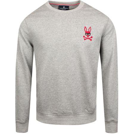 Hoodie Rawson Mischief Bunny Sweatshirt Heather Grey - AW19 Psycho Bunny Picture