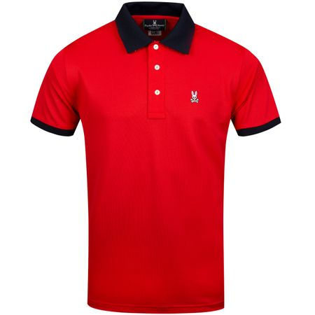 Golf undefined Addison Sport Polo Brilliant Red - AW19 made by Psycho Bunny