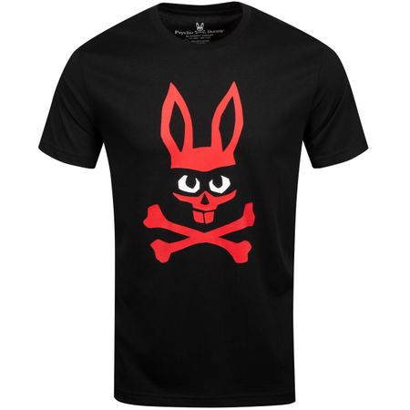 Golf undefined Mischief Bunny Graphic Tee Black - AW19 made by Psycho Bunny