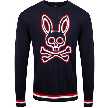 Golf undefined Furley Sweatshirt Navy - AW19 made by Psycho Bunny