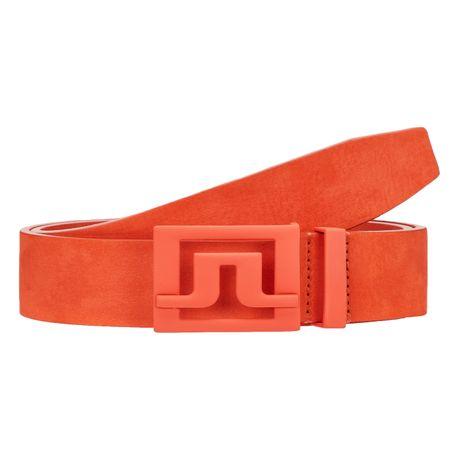 Golf undefined Slater 40 Brushed Leather Belt Juicy Orange - AW19 made by J.Lindeberg