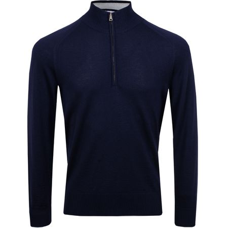 Golf undefined Hayes Merino Navy - AW19 made by Orlebar Brown