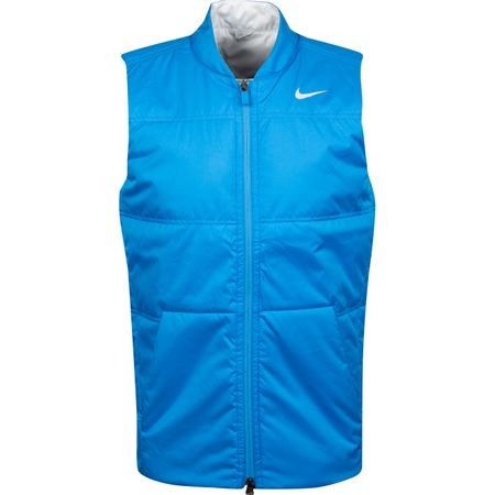 Jacket Reversible Synthetic Fill Vest Light Photo Blue - AW19 Nike Golf Picture