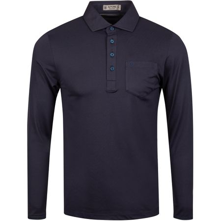 Golf undefined Sleeved Polo Twilight - AW19 made by G/FORE
