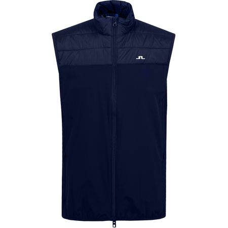 Golf undefined Winter Hybrid Lux Softshell Vest JL Navy - AW19 made by J.Lindeberg