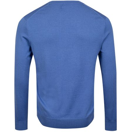 Golf undefined Merino Crew Neck Indigo Sky - AW19 made by Polo Ralph Lauren