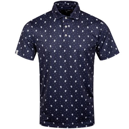 Golf undefined Printed Lightweight Airflow Polka Lions Navy - AW19 made by Polo Ralph Lauren