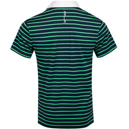 Golf undefined Pro Fit Stripe Tech Pique Polo Classic Kelly/French Navy - AW19 made by Polo Ralph Lauren