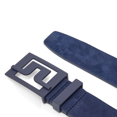 Belt Slater 40 Brushed Leather JL Navy - AW19 J.Lindeberg Picture