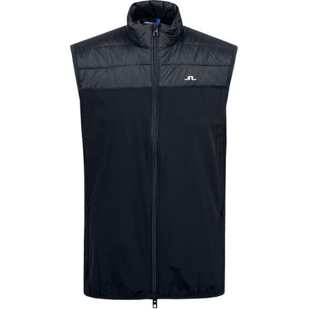 Golf undefined Winter Hybrid Lux Softshell Vest Black - AW19 made by J.Lindeberg