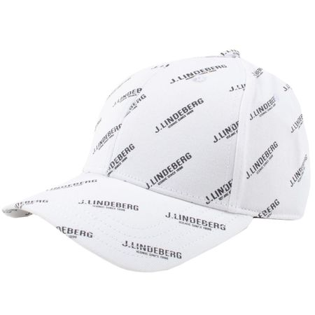 Golf undefined Print Flexi Twill Cap White - AW19 made by J.Lindeberg
