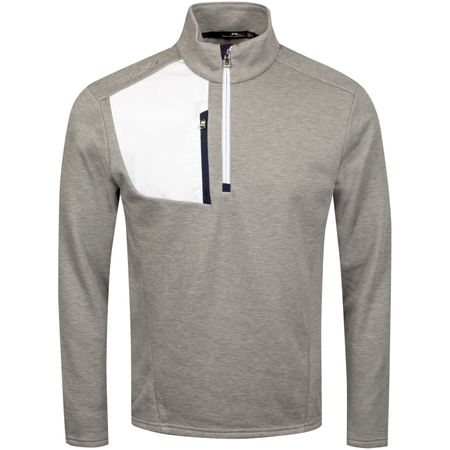 Golf undefined Half Zip Thermal Tech Top Andover Heather - AW19 made by Polo Ralph Lauren
